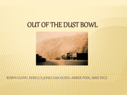 Out of the Dust Bowl
