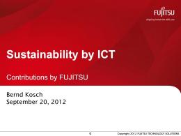 Fujitsu Standard Tool