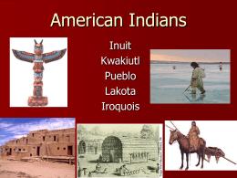 American Indians - Augusta County Public Schools / …