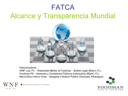 FATCA Global Reach and Transparency