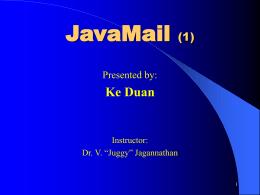 JavaMail (1)