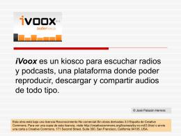 iVoox Presentacion
