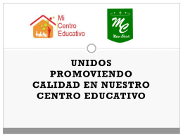 Diapositiva 1 - MI CENTRO EDUCATIVO