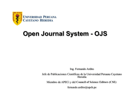 9 Open Journal System