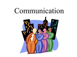 Communication - Smyrna High School
