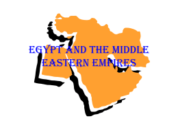 Egypt and the Middle Eastern Empires