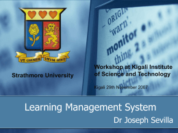 eLearning - Strathmore University
