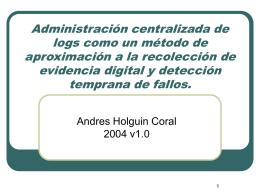 Diapositiva 1 - Bienvenido a ACIS | ACIS