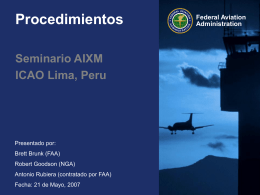 Aeronautical Information Exchange (AIXM/AICM)
