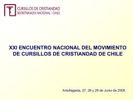 Diapositiva 1 - SECRETARIADO NACIONAL
