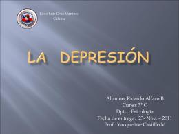 depresion - Bienvenidos a la web LCM