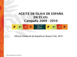 Diapositiva 1 - Aceites y Olivos
