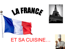 LA FRANCE - Languages Resources