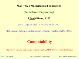 Introduction to 'Mathematical Foundations for Software