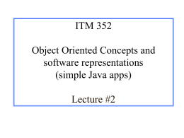 CS 125 Introduction to Computer Science