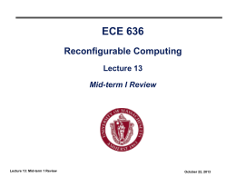 ECE697F - quiz review
