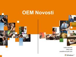 OEM - Microsoft – zvanična početna stranica