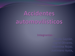 Accidentes automovilisticos