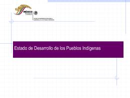Programa Nacional para el Desarrollo de los Pueblos