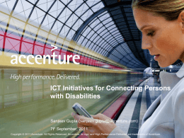 Accenture Mobility Operated Services