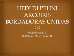 UEDI DI PEHNI ARCOIRIS BORDADORAS UNIDAS