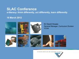 VCAA Study Design