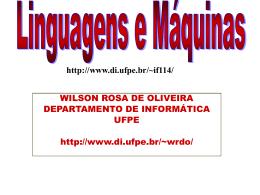 Slides de Linguagens e Maquinas