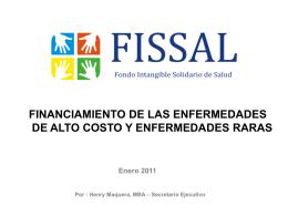 Diapositiva 1 - ForoSalud - Foro de la Sociedad Civil en …