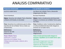 ANALISIS COMPARATIVO