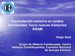 "Diapositiva 1 - CNEA - GIyA ""Laboratorio Tandar"""