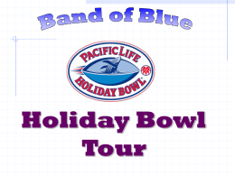 Band of Blue Orange Bowl Tour 12/26/02