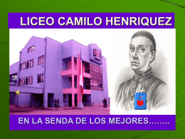 LICEO CAMILO HENRIQUEZ