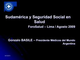 CICOP - ForoSalud - Foro de la Sociedad Civil en Salud