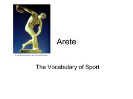 Arete - Monm