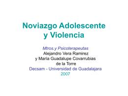 Noviazgo Adolescente y Violencia