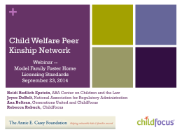 Mary Bissell Partner, ChildFocus, Inc.