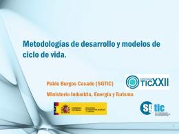 Plantilla Presentacion SGTIC 2012