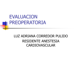 EVALUACION PREOPERATORIA - Clinical Trial Results: The