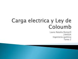 Carga electrica y Ley de Coloumb