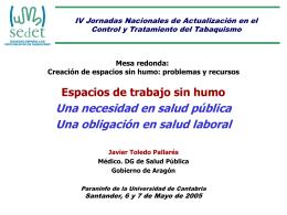 Jornadas SEDET 2005