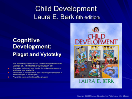 Child Development Laura E. Berk 8th edition