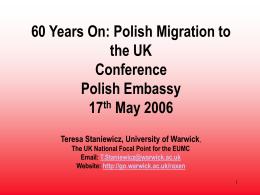 UK Polonia 2006