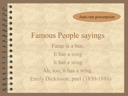 Famous People quotes and proverbs.