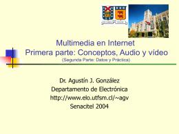 Multimedia en Internet