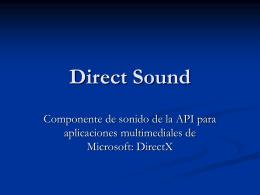 Direct Sound