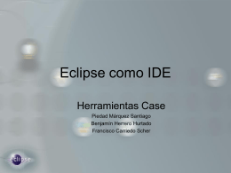 Eclipse como IDE