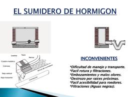 """SUMIDEROS SIFONICOS """"URFE"""" - Sumideros, rejillas y"""