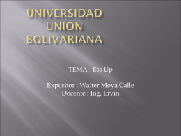 UNIVERSIDAD UNION BOLIVARIANA