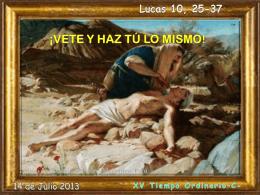 Tiempo ordinario 15 domingo -C- 11-07-07