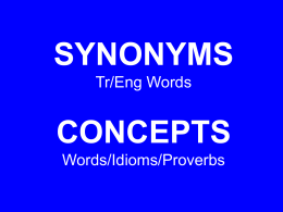 The comparative paremiology (study of proverbs) shows …